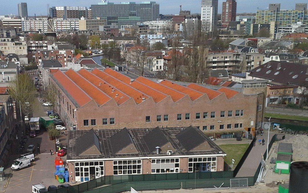 We zijn begonnen: de bouw van de grootste zonnecentrale van de Leidse binnenstad is gestart!